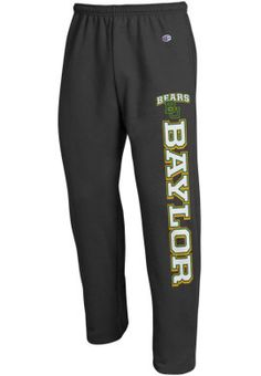 Baylor University Bears Open Bottom Sweatpants | Baylor University