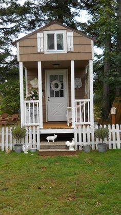 Shabby Chic Tiny Retreat: Tiny house update.....