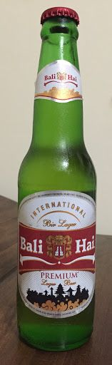 Bali Hai Premium Lager, PT Bali Hai Brewery Indonesia - bought in Amed, Bali, Indonesia