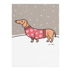 Christmas Dachshund in the Snow Fleece Blanket   wirehaired dachshund, weiner dog puppies dachshund, mini dachshund full grown #dachshundMarsele #dachshundminiature #dachshundworldwide Dachshund Puppies For Sale, Brown Dachshund, Dachshund Shirt, Wire Haired Dachshund, Dachshund Gifts, Funny Dachshund, Dachshund Love, Daschund, Dachshund Quotes