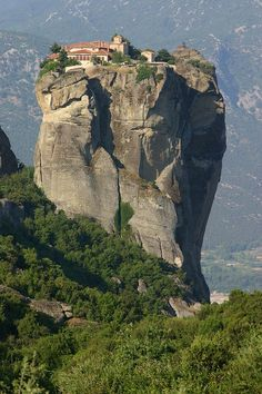 Monastery of the Holy Trinity, Thessalia, Greece
