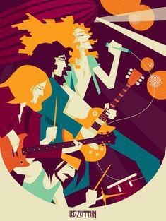 Led Zeppelin by jessicacicca on deviantART