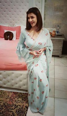 cfc1469c6fe For the love of chiffon saris...Sari by Issa Studio HMU by Manasa