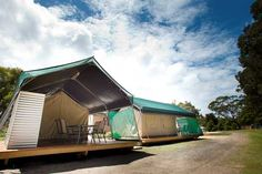 Camp in Style in our Safari Tents | BIG4 Harrington Holiday Park