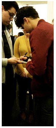 """Darren Criss at """"Hamilton"""""""
