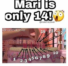 "Follow @_chat.noir.is.bae_ on Instagram: ""GUYS! MARI IS OFFICIALLY ONE OF THE BEST 14 YEAR OLDS I KNOW #mariis14yearsold"