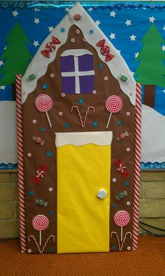 1000 Images About Christmas Door Decorating Ideas On