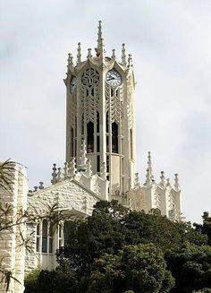 University of Auckland, New Zealand. My university - I must have been younger when I climbed this tower.