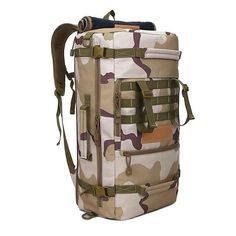 50L Tactical Military MOLLE Assault Backpack