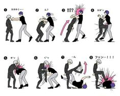 Tokyo ghoul, funny, kaneki have to remember for defense~