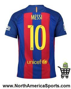 Camisa Nike Barcelona Home Nº 10 - Messi - Azul+Vermelho Barcelona 2018, Neymar Barcelona, Barcelona Jerseys, Barcelona Football, Messi 10, Lionel Messi, Neymar Jr, Camisa Barcelona, Barcelona Shirt