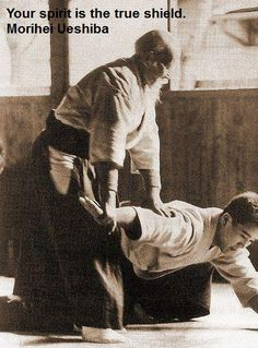 Aikido quote from master Ueshiba