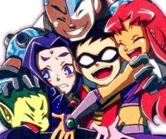 Teen Titans, first non-marvel characters on this board Teen Titans Go, Teen Titans Raven, Teen Titans Fanart, Batwoman, Nightwing, Chat Origami, Dc Comics, Original Teen Titans, M Anime