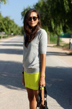 neon skirt coohuco 5