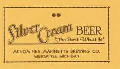 Silver Cream Beer