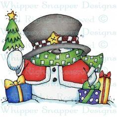 Warm Snowman Wishes