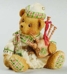 Duncun - Boxed in the Cherished Teddies pattern by Enesco China