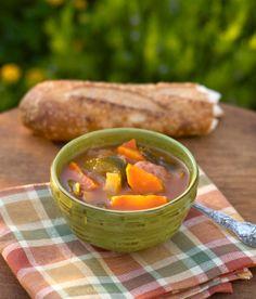 David's Summer Garden Vegetable Soup