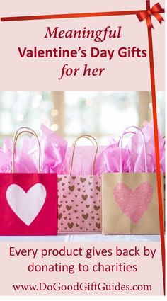 20 best valentine s day gifts that give back images on pinterest in