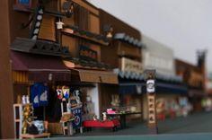 ミニチュア好きにはたまらない!日本の街並みをペーパークラフトで再現している日本人み~っけ