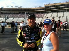 April and Matt crafton at the best Labor Day party in the USA.