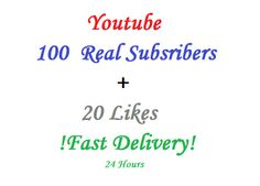 claudiu98: get 100 Real Subscribers Bonus 20 Likes for $5, on fiverr.com