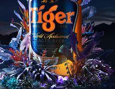 Ознакомьтесь с этим проектом @Behance: «Tiger beer» https://www.behance.net/gallery/30464325/Tiger-beer