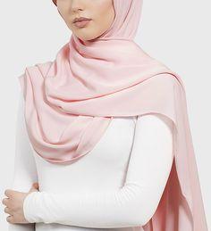 Rose Quartz Peach Skin Hijab - £11.90 : Inayah, Islamic Clothing & Fashion, Abayas, Jilbabs, Hijabs, Jalabiyas & Hijab Pins