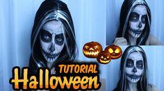 Tutorial de Caveira - Halloween   Por Jacky Coutinho