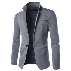 507f96ec901f9 Encontrar Más Chaquetas de Traje Información acerca de Nueva marca chaqueta  de hombre 2016 moda Casual