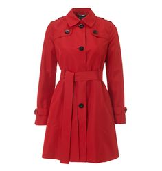 Hobbs Red Trench