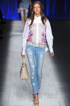 Milan Fashion Week: Just Cavalli Spring / Summer 2013 RTW