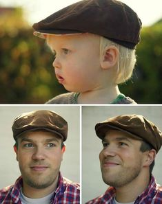 Baby Knitting Patterns Beanie Flat cap for big and small - pattern and sewing instructions via Makerist . Knitting Patterns Boys, Baby Patterns, Sewing Patterns, Sewing Baby Clothes, Baby Sewing, Baby Boy Blankets, Easy Baby Blanket, Love Sewing, Sewing For Kids