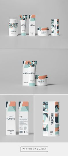 Packaging Cosmetics, Brand Packaging, Package Designs, Branding Identity, Cosmetic Packaging, Branding Yunzhu, Addict Packaging