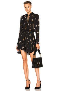 A.L.C. Campbell Dress in Black Multi