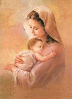 María y el Divino Niño