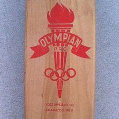 Vintage Olympian Pro skateboard