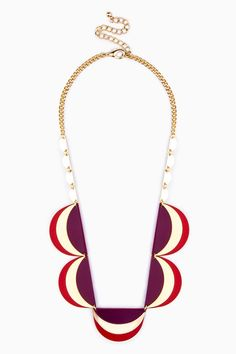 ShopSosie Style : Crescent Play Necklace