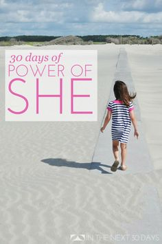 For these #30days I'm exploring the Power of She, the power that we, as women posses that make us strong, unique, fearless. #girlpower | In The Next 30 Days