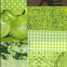 Paper Packs, Decoupage, Green, Blue, Art, Art Background, Kunst, Performing Arts, Paper Bags