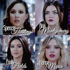 """#PLL 5x25 """"Welcome to the Dollhouse"""" - Spencer, Aria, Emily and Hanna"""