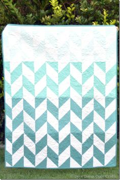 Riley Blake Designs Blog: Project Design Team Wednesday~Ombre Herringbone Quilt but I want one in purples