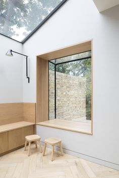 An east London family home by Freehaus packs a punch through simplicity Victorian Terrace House, Concrete Houses, London House, Indoor Outdoor Living, East London, North London, Japanese House, Prefab Homes, Ground Floor
