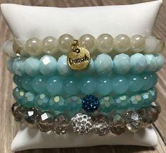 Catalina Erimish Set of 5 Mom Jewelry, Jewelry Crafts, Beaded Jewelry, Jewelery, Jewelry Design, Jewelry Making, Ermish Bracelets, Handmade Bracelets, Handmade Jewelry