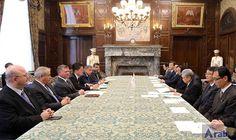 Jordanian King meets Heads of Japan's Lower…