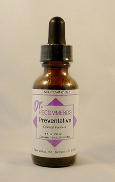 Natural Home Remedy for the Immune System | Preventative Homeopathic (1 fl. oz) by Dr. Recommends www.eVitaminMarket.com