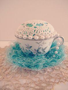 Sweetest TeaCup PinCushions...