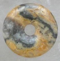 Donut van Crazy Lace Agaat 30 mm.
