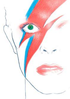 """He is not dead. He just went home."" David Bowie - Ron Salas"