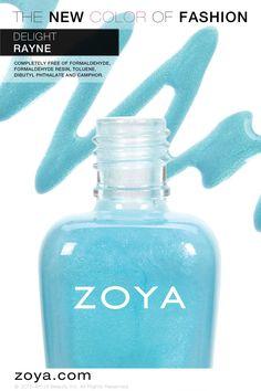 Zoya Rayne - from the Delight collection Zoya Nail Polish, Nail Polishes, Art Of Beauty, Beauty Bar, Girly Stuff, Girly Things, Nail Colors, Colours, Glamour Nails